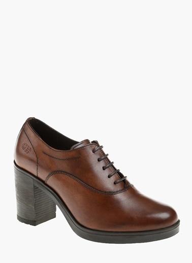 George Hogg Topuklu Ayakkabı Taba